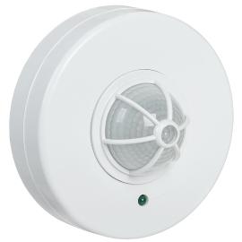 Датчик движения ДД 024 белый, угол обзора 120-360°, дальность 6 м, IP33, IEK