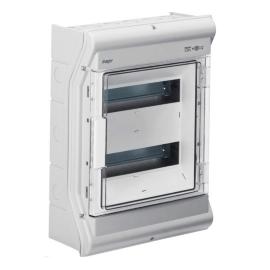 Щит распределительный на 24(28) модулей, н/у с прозрачной дверцей Hager VECTOR VE212DN, IP65