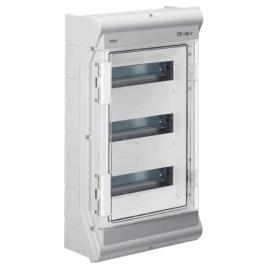 VE312DN Щит распределительный на 36 (42) модулей, н / у с прозрачными дверцами, IP65, VECTOR