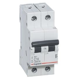 Автоматический выключатель 1-полюсный Legrand TX3 6A 2Р 16кА тип «C»