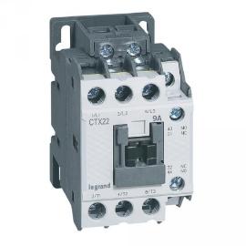 Контактор CTX3 3P 22A 1 Н.О. + 1 Н.З. 380V