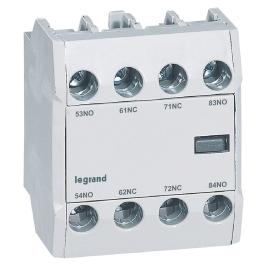 Блок вспомогательного контакта CTX3 фронтальный 2 Н.О. + 2 Н.З.