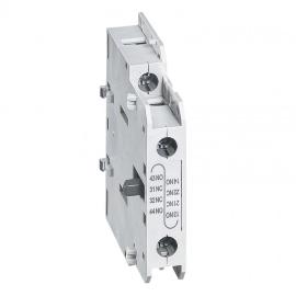 Блок вспомогательного контакта CTX3 боковой 1 Н.О. + 1 Н.З.