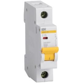 Автоматический выключатель ВА47-29 1P 06A 4.5кА характеристика C ИЭК