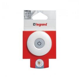 Вилка Legrand 16А с выключателем и подсветкой (50409)