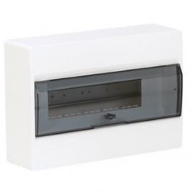 VR112TD Щит в / у с прозрачными дверцами 12 мод. COSMOS