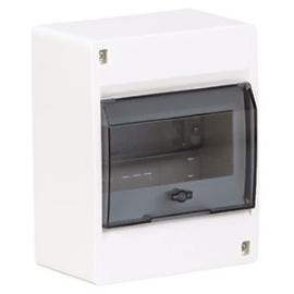 Щит наружной установки с прозрачной дверцей 6 мод. Hager COSMOS VD106TD