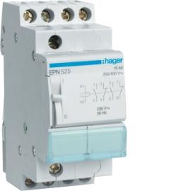 Импульсное реле Hager EPN525 230В / 16А, 2НВ + 2НЗ