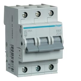 MB320A Автоматический выключатель In = 20A, 3п, В, 6 kA, 3м