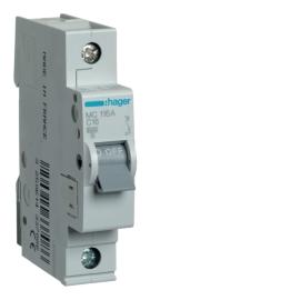 Автоматический выключатель Hager MC140A In= 40А, 1п, C, 6 kA, 1м