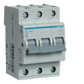 MC325A Автоматический выключатель 3р, 25А, С