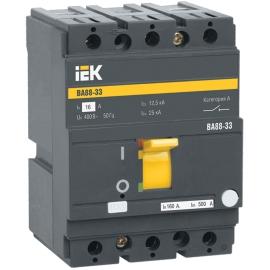Автоматический выключатель ВА 88-33 3Р 50А 35кА ИЭК
