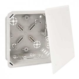 Коробка распределительная с крышкой 128х128х70мм