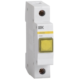 Сигнальная лампа ЛС-47М, Жёлтая матрица