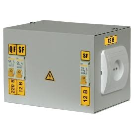 Ящик с понижающим трансформатором ЯТП-0,25 380/24В-3 36 УХЛ4 IP31